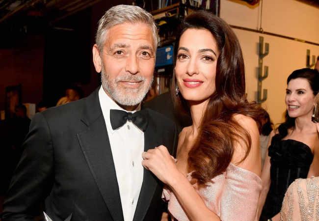 George Clooney Amal olmadan hayatı bomboştu