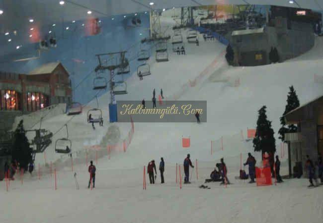 Dubai'de cöl eyaletinde kayak yapmak mumkunmu