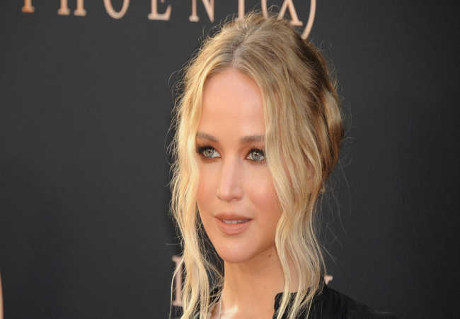 Jennifer Lawrence Filim cekilisinde yaral<span>and</span>i