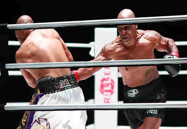 Mike Tyson, Roy Jones Jr ile Dövüşmeden Önce Ot İçti