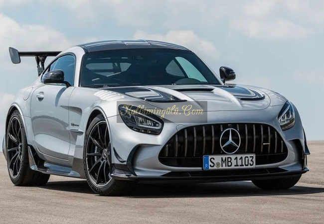 Mercedes-AMG-GT Black Serisi ucak gibi