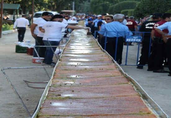 80 metrelik kunefe