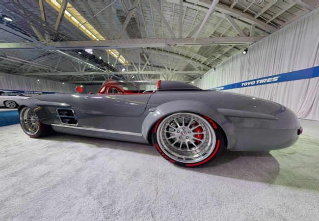 Mercedes 300 SL Gullwing geniş gövdeli Rüya Arabasi. Teknoloji haber