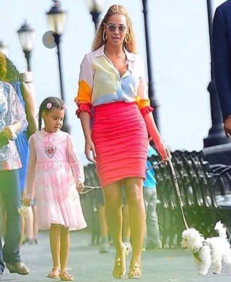 Beyonce Knowlesin cucuk prensesi müzik dünyasıni titretiyor