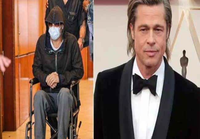 Brad Pitt tekerlekli sandalyede mi? Hollywood yıldızına ne oldu. Magazin haber